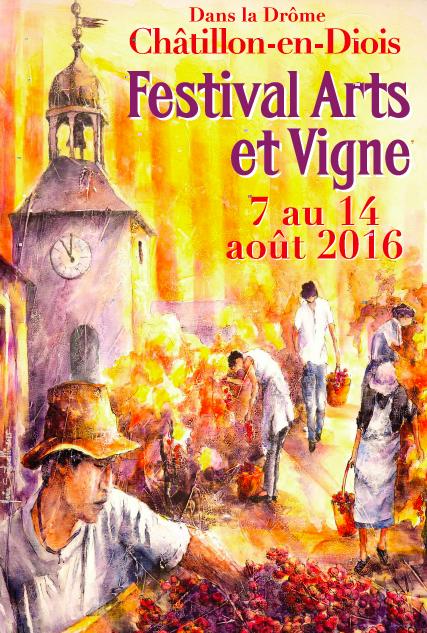 Festival Arts et Vigne 2016 Robert Jayet